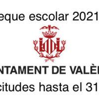 CHEQUE ESCOLAR 2021/22